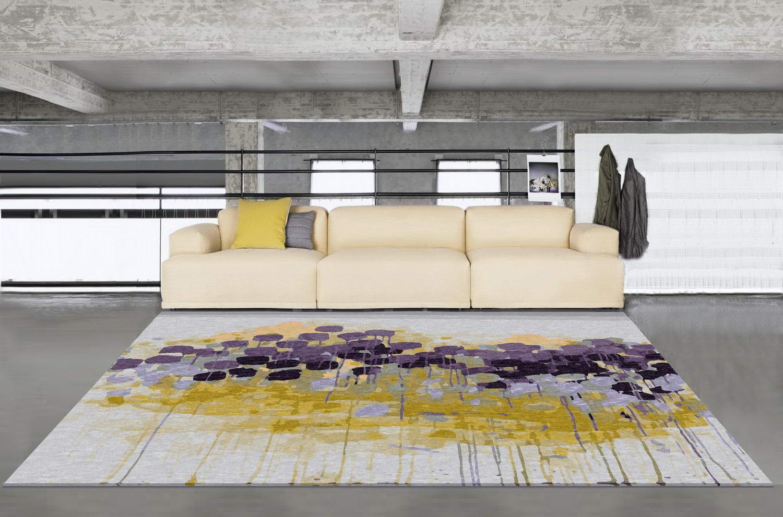 Modern Fl Wool Rug Library Johannesburg South Africa